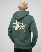Stussy Hoodie With Back Logo