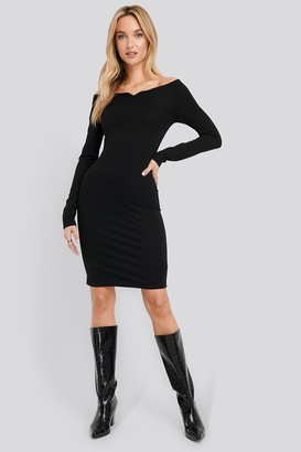 NA-KD Slip Shoulder Bodycon Dress