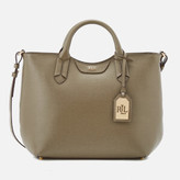 Lauren Ralph Lauren Women's Tate Convertible Tote Bag - Sage