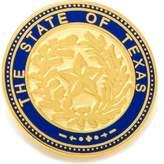 Cufflinks Inc. State of Texas Seal Lapel Pin