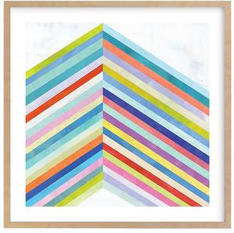 Pottery Barn Kids Converge Wall Art by Minted®, 11x11,Black