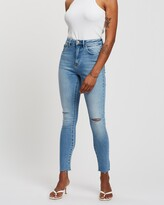 Thumbnail for your product : Neuw Women's Blue Skinny - Marilyn Skinny Jeans - Size 28 at The Iconic