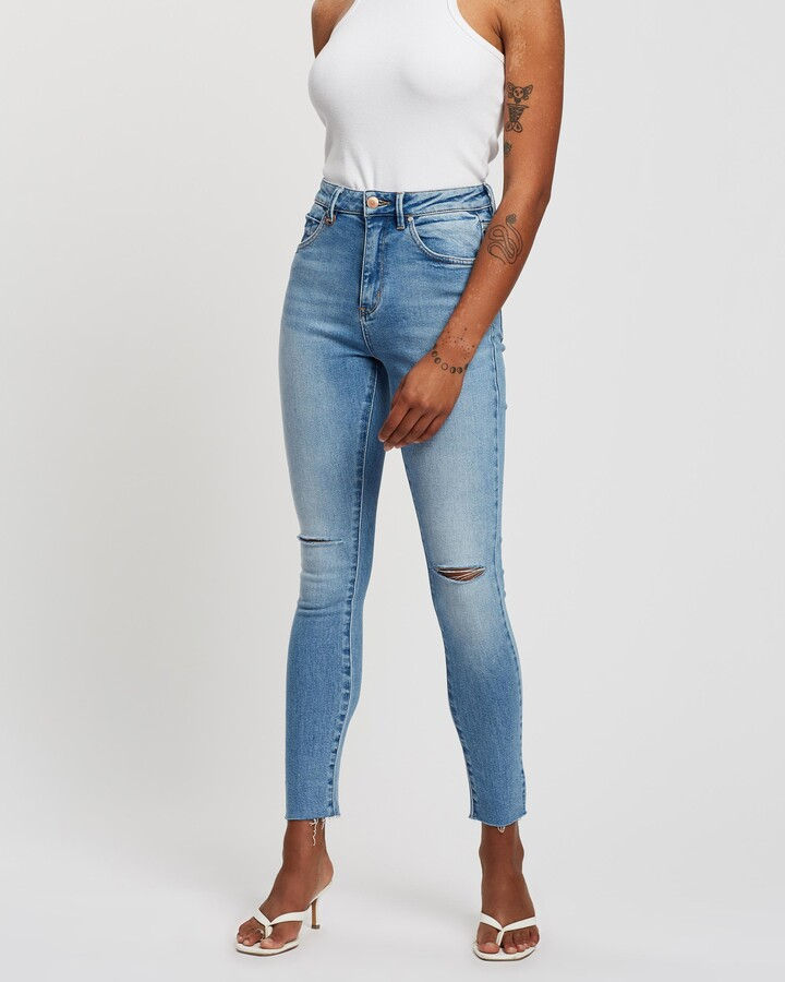 Thumbnail for your product : Neuw Women's Blue Skinny - Marilyn Skinny Jeans - Size 30 at The Iconic