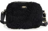 UGG Claire Genuine Shearling Crossbody Bag