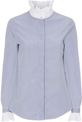 Claudie Pierlot Cotton Victorian Collar Shirt