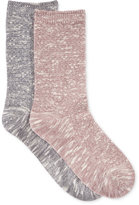 Charter Club Women's 2-Pk. Waffle Texture Crew Socks, Only at Macy's