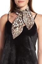 Vince Camuto Women's Spots Roar Silk Scarf