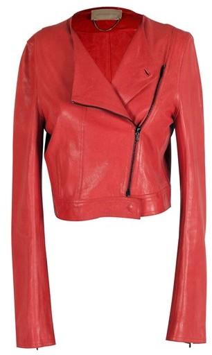 Vanessa Bruno Vermillion Biker Jacket