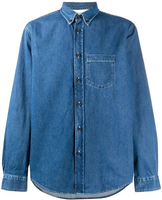 Acne Studios Button-Down Denim Shirt