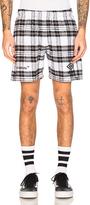 Off-White x Umbro Shorts in White,Checkered & Plaid,Black.