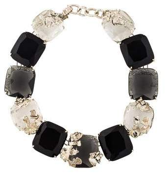 Appartement a Louer Crystal Link Collar Necklace