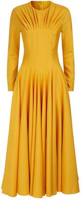 Emilia Wickstead Wool Crepe Nasiba Midi Dress