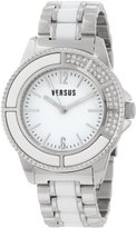 Versus By Versace Women's 3C64000000 Tokyo Stainless Steel Dial Crystal Bracelet Watch