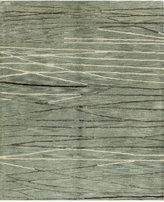 "Bashian Brothers Bashian Area Rug, Gramercy HG238 Aqua 7'9"" x 9'9"""
