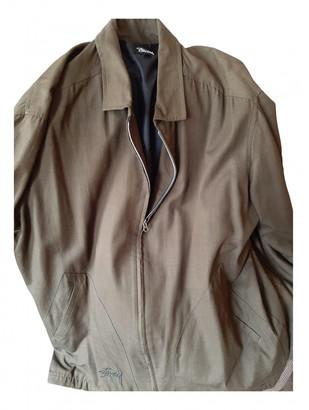 Stussy Khaki Cotton Jackets