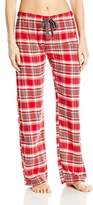 PJ Salvage Women's Mountains are Calling Plaid Pant