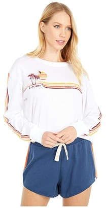 Rip Curl Golden Days Long Sleeve (White) Women's Clothing