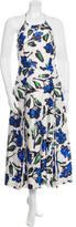 Milly Floral Midi Dress