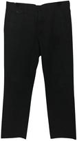 Maison Margiela Navy Cotton Trousers