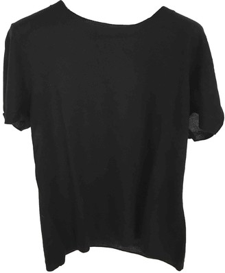 Tara Jarmon Black Cashmere Top for Women