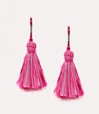 Vivienne Westwood Jamima Earrings Fuchsia