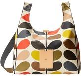 Orla Kiely Matt Laminated Classic Multi Stem Midi Sling Bag Backpack Bags