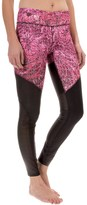 Steve Madden Printed Leggings - Mesh Panels (For Women)