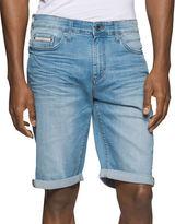 Calvin Klein Jeans Worn Concrete Denim Shorts