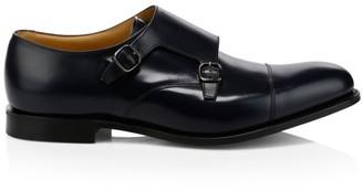 Church's Detroit Monk Strap Leather Shoes