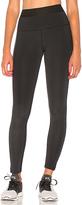 Splits59 Bonus High Waist Legging in Black. - size L (also in M,S,XS)