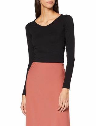 INSIDE Women's @SPLN49 Longsleeve T-Shirt Black (Negro 1) X-Large