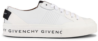 Givenchy Tennis Light Low Sneakers in White | FWRD