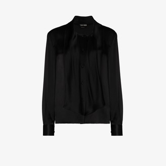 Tom Ford Pussy-Bow Blouse