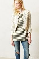 Anthropologie Knitted & Knotted Tansy Crochet Topper