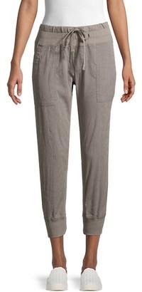 James Perse Textured Jogging Pants