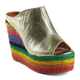 N.Y.L.A. Cobain Womens Wedge Sandals