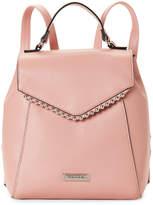 Tahari Pink Ball Chain Effect Backpack