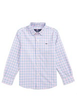 Vineyard Vines Toddler Boy's Saddle Bay Check Shirt