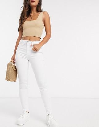 Hollister high rise straight leg jeans