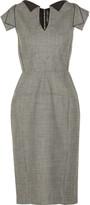 Roland Mouret Eliza wool-jacquard dress