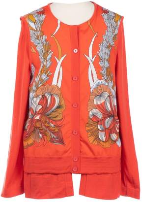 Hermes \N Orange Wool Jacket for Women