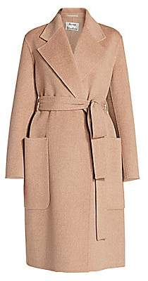 Acne Studios Women's Carice Double Face Wool Belted Coat