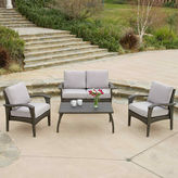 Asstd National Brand Honolulu 4-pc. Wicker Outdoor Sofa Set