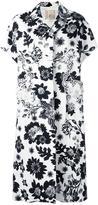 Antonio Marras short sleeve coat - women - Cotton/Polyester/Polyurethane/glass - 42