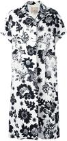 Antonio Marras short sleeve coat - women - Cotton/Viscose/Polyurethane/glass - 40