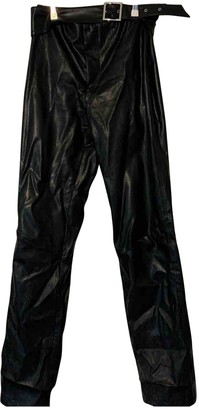 I.AM.GIA Black Synthetic Trousers