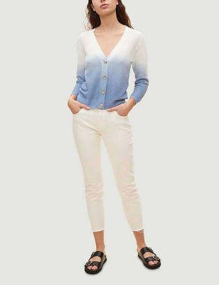 Claudie Pierlot Miguele tie-dye cotton cardigan