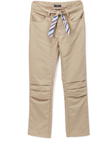 U.S. Polo Assn. Khaki Tie-Belt Pants - Girls