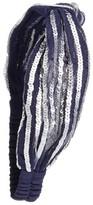 Berry Sequin Interlock Head Wrap