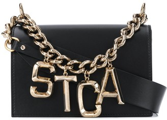 Just Cavalli Chain Link Logo Bag